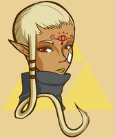 SkySkyward Sword: Impa by MirageFlames