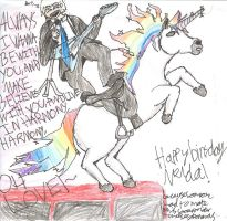 HAPPY BIRTHDAY NELDA by cheeseybananas