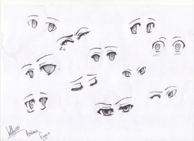 Anime Eyes [ Updated ] by Helly-Chan135