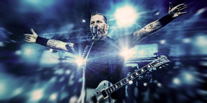 James Hetfield - Metallica by KINGMEZOARTS
