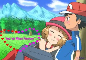 Happy Valentine's - Amourshipping by EpicAnubisxD