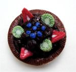 fruit tart by MotherMayIjewelry