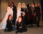 Harry Potter strange family by Matsu-Sotome