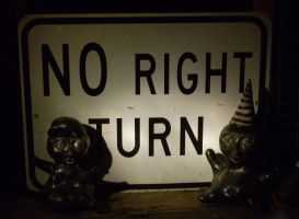 No Right Turn by Eris-stock