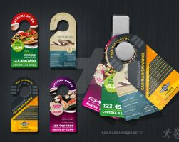 DOA Door Hanger Set 01 by design-on-arrival