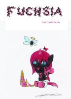 Fuchsia and Little Fusha by AZ-Derped-Unicorn