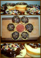 My first homemade Donuts by Tabascofanatikerin