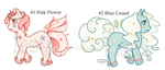 Adopts 006-007 [ Pony Princese Pastel ] (OPEN) by handedice