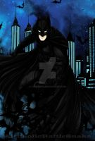 Batman by AlcoholicRattleSnake