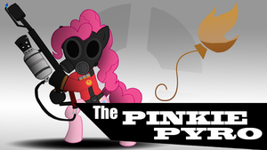 Pinkie Pyro (Wallpaper) by TheAljavis