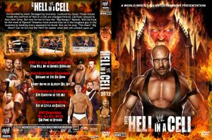 WWE Hell in a Cell 2012 DVD V4 Cover by Chirantha