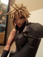 Final Fantasy VII Advent Children Cloud Papercraft by LegendofFullmetal