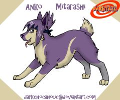 NCTS - Anko by DarkChocaholic