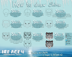 Ice Age 4: Shira tutorial by juliajm15