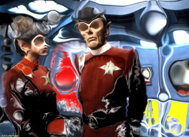 Stat Trek: The Wrath of Khan reinterpretation by jimiparadise