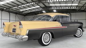 1955 Chevrolet Bel Air Coupe by SamCurry