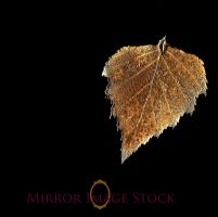 Gold Leaf Pendent by mirrorimagestock