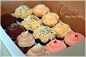 Cup Cake Ad by ClassicFemale