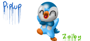 Piplup by Zoiby