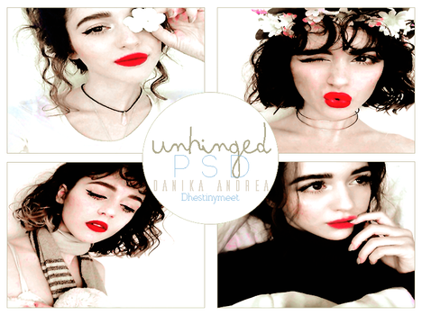 +UNHINGED PSD by DhestinyMeet