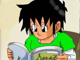 Dbz Oc': Revision by caractrer-manga