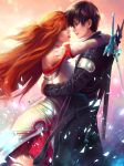 Kirito and Asuna by shobey1kanoby