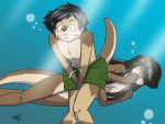Commission: In the Water pt 2 by UselessKitsune