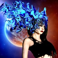 MISSynthetic blue moon by filipberak