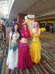 My little Belly Dancers- Connecticon 2017 by BrinyCosplay
