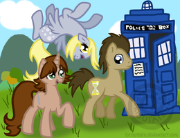 To the TARDIS by Furisutairu