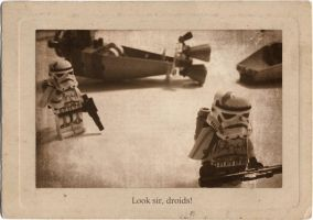 Look sir, droids! by JsunDmint
