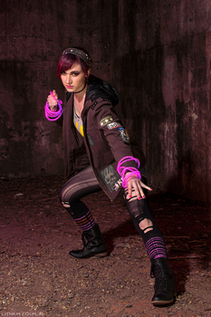 Neon Powers - Fetch - Infamous First Light by Lithium-Toxide