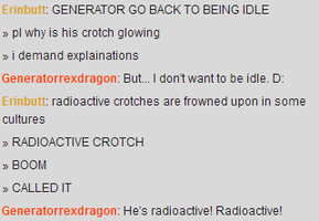 Radioactive Crotch by DRAGONLOVER101040