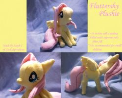 MLP: FIM Fluttershy Plushie Sold by cosplay-kitty
