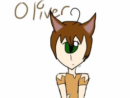 Oliver, Random Doodle by The-Insane-Puppeteer