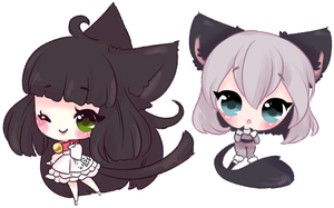 Some Kitties by Reminel