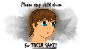 Please stop Child Abuse by JamesBryce