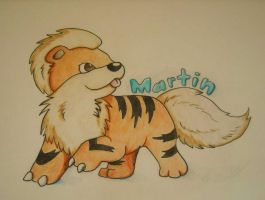 Growlithe by Nanabuns