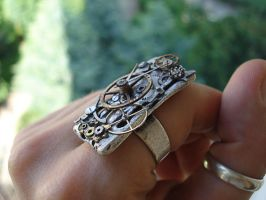 ....steampunkring.... by Buyju