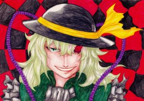 Color practice: Koishi Komeiji by Tres-Iques