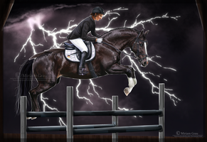 -I Through thunder and storm I- by Summerlandhillstable