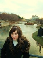 Hetalia - Waiting at the River by kanne13