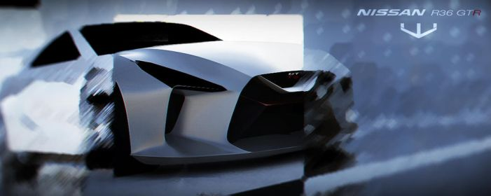 R36 GTR first 3d render 2015 wizzoo7  by wizzoo7