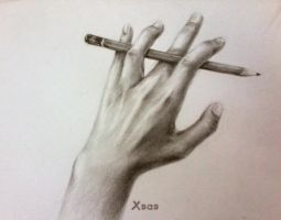 Hand DrawingII by BlackwhiskyX