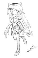 Stephanie the Hedgehog by Emerl-lad12