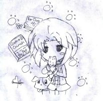 Fanart-1st Chibi Drawing by 10nuada