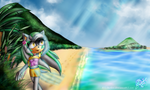 Special Season Theme No. 42 - Summer Island breeze by EllyTheGee