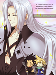 CCFF7-Sephiroth's secret...8O by meru-chan