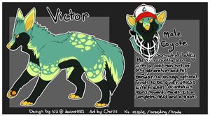Victor - Auction - Points and Money - CLOSED by Fictatious