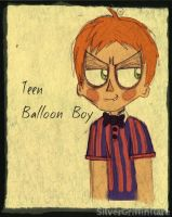 Teen Balloon Boy by SilverGriffinflare